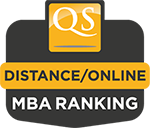 QS Ranking - Online/Distance Learning MBA Program in UK